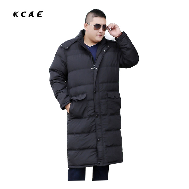 2017 new Men's Big size plus Fat to increase the Thickening of the Long section of Casual Men's clothing Coat 7XL 8XL 9XL 10XL feed the startup beast 7 step guide to big hai