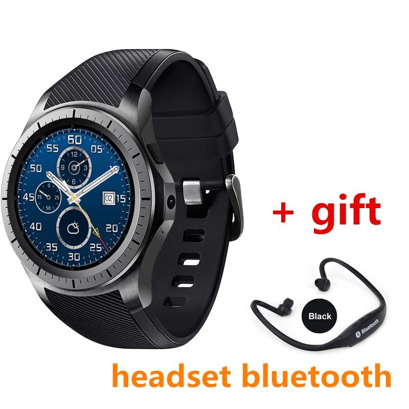 imágenes para Bluetooth smart watch kw88u pk samsung watch xiaomi huawei watch con 3G GPS WIFI podómetro del ritmo cardíaco pk dm368 k88h smartwatch