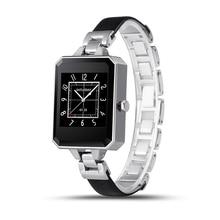 Hot Regalo de Las Muchachas! lemfo lem2 smart watch hermosa mujer señora reloj smartwatch sycn mensaje podómetro monitoreo de la frecuencia cardíaca