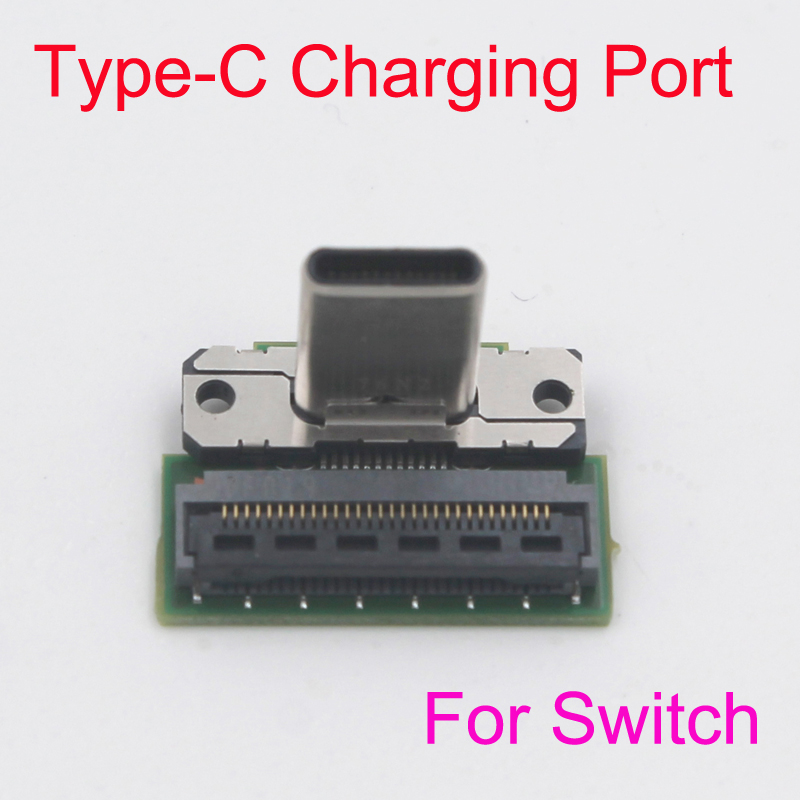 Original Type-C Charging Port Socket Replacement for Nintendo Switch NS Game Console Repair Parts