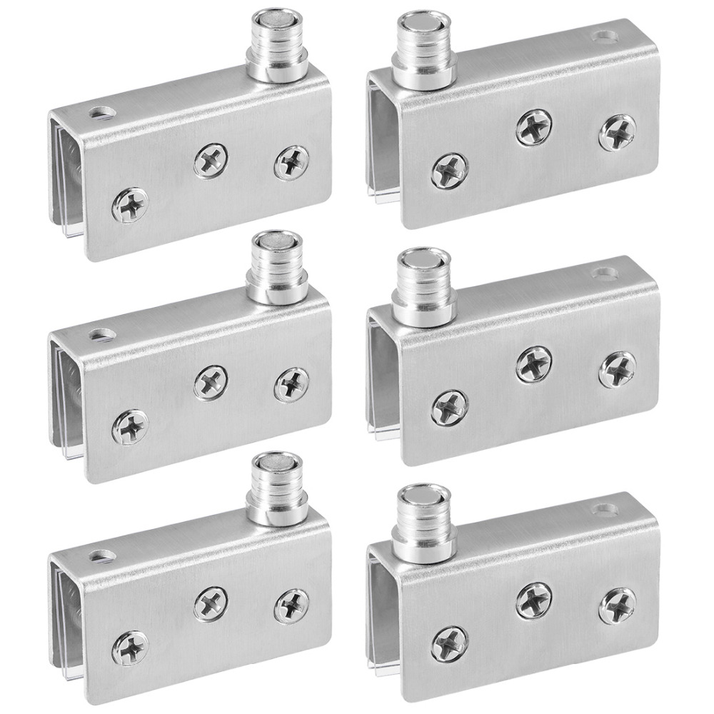 """75mm Pair Of 3"""" Brushed Silver Hinges"""