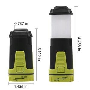 Image 4 - משולב נשלף קמפינג אורות LED פנס חיצוני נייד פנס חירום אור 2019 חדש