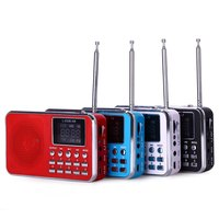 L 938B Portable AM FM Radio Speaker Music Player With MP3 Music Player USB Port 8GB
