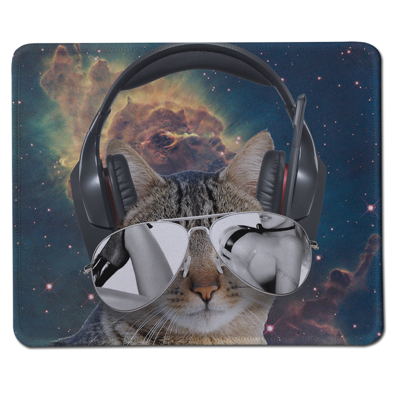 New Arrival DIY Cat Sexy Woman Painting Large Gaming Mousepad Desktop Anti-Slip Rubber Mat for PC Computer Keyboard Mice Pads