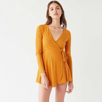 Fashion Sexy Gold Sweater Short Dress Womens Clothing Vestidos Mujer Jurk Elbise Jurken Mini Clothes Vestidos