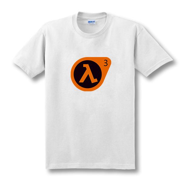 2017 t-shirt novo half life 3 o-pescoço ea camisetas de alta qualidade impressos personalizados tops t-shirt tees hipster