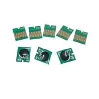 Einkshop T3240 doldurulabilir kartuş çip için Epson Surecolor P400 yazıcı ark çip T3240-T3249