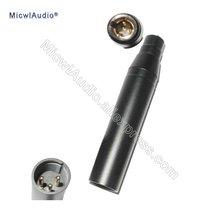 Мини xlr 4 контактный входной конденсаторный микрофон для shure
