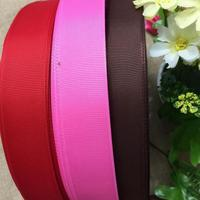Hot Sale 38mm Wide 100 Yards Wedding Craft Grosgrain Ribbon for Home Garden Party Decor,Gift Wrap Tape,Apparel Material