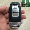 3 Buttons Smart Remote Key For Audi A4L A6L Q5 With 315Mhz Car Alarm Keyless Entry Fob (8T0 959 754C)