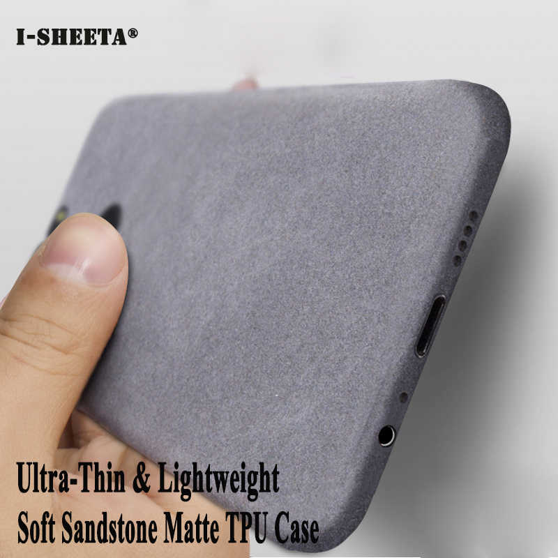 Ultra Thin Soft TPU Rubber Matte For Samsung Galaxy Note 4 5 8 9 N910 Silm Silicone Sandstone Cases for Samsung Note 9 8 Fundas