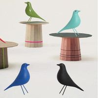D'origine Européenne résine oiseau maison intérieur Décorations bureau arts cadeau de noël de mariage colombe de paix statue maison Mascottes