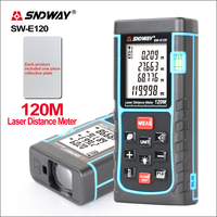SNDWAY Laser Distance Meter For SW E120 / E150 Mini Range Finder Digital Laser Distance MeterDistance Tape Measuring Tool