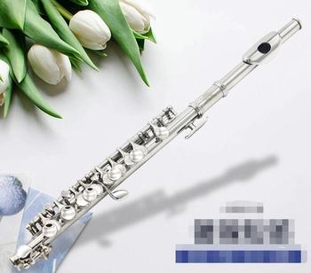 Copper nickel plated piccolo playing grade piccolo flute instrument