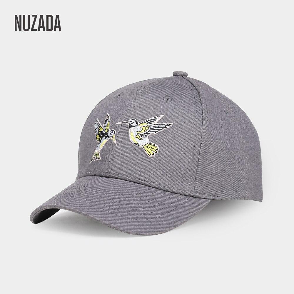 Brand NUZADA Snapback High Quality Embroidery Women   Baseball     Cap   Bone   Caps   Spring Summer Autumn Cotton Adjustable Hats Spring