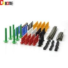 Universal Colorful Motorcycle Accessories Fairing Bolt Screw Fastener  For Suzuki GSF750 GSR750 GSX-R750 GLADIUS 400