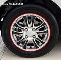 Neumático de rueda de coche pegatina Reflectante fondo de llanta para Mercedes-benz W211 W163 W164 W203 w204 W221 W220 w163 w639 w168 w638 vito