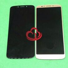 Yedek tam LCD dokunmatik ekranlı sayısallaştırıcı grup Motorola Moto G6 oyun xt1922