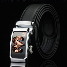 Genuine Mens Belts Luxury Casual Cow Leather Belt Men Designer High Quality Oryx Metal Buckle 2016 Brand New Ceinture Homme Q319