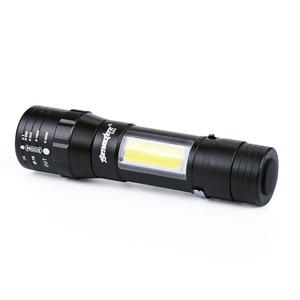 Image 3 - Mini lampe torche LED zoom torche LED XPE Q5, COB, 4 Modes, 14500/AA, lanterne