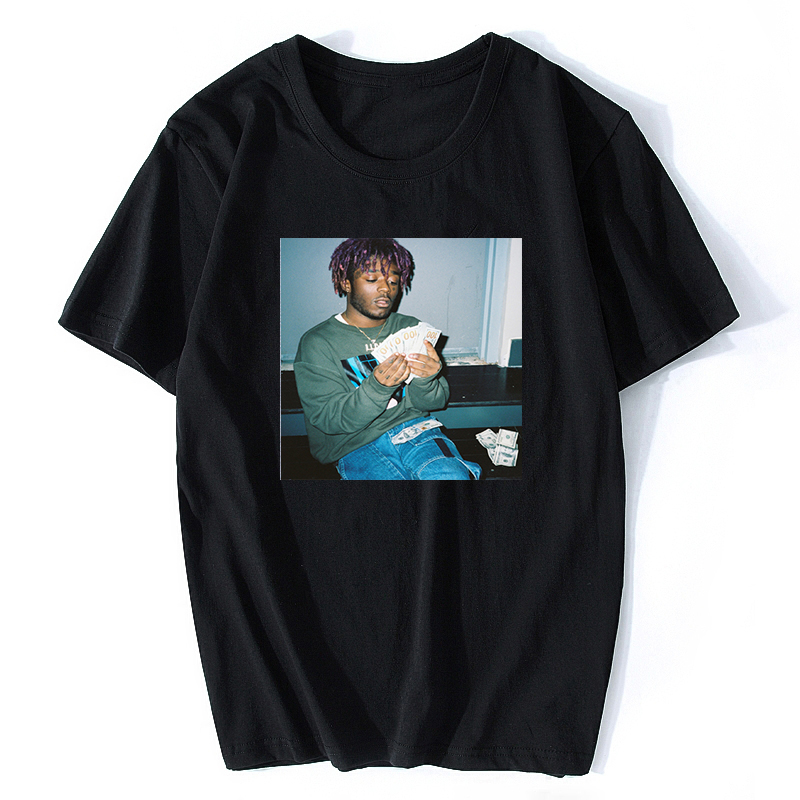 2019 Lil Uzi Vert T-Shirt Hiphop Rapper Singer XO TOUR Llif3 Luv Is Rage Quavo Lil Uzi Vert Simple Graphic Tee Cool Funny Shirt