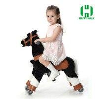 גודל חם שמח חיים צעצוע צעצועי צעצוע סוס סוס מכאני הליכה צעצוע מצחיק לרכב על סוס סוס סייח לילדים יום הולדת מתנות