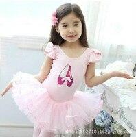 Kızlar için Bale Dans Elbise Çocuk Dans Giyim Çocuk Latin Dans Elbise Çocuk Leotard Giyim Çocuklar Jimnastik Sahne 6