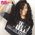 Peerless brasileiro kinky curly virgem cabelo 3 ofertas bundle cabelo virgem brasileiro encaracolado kinky brasileiro cabelo encaracolado ms lula cabelo