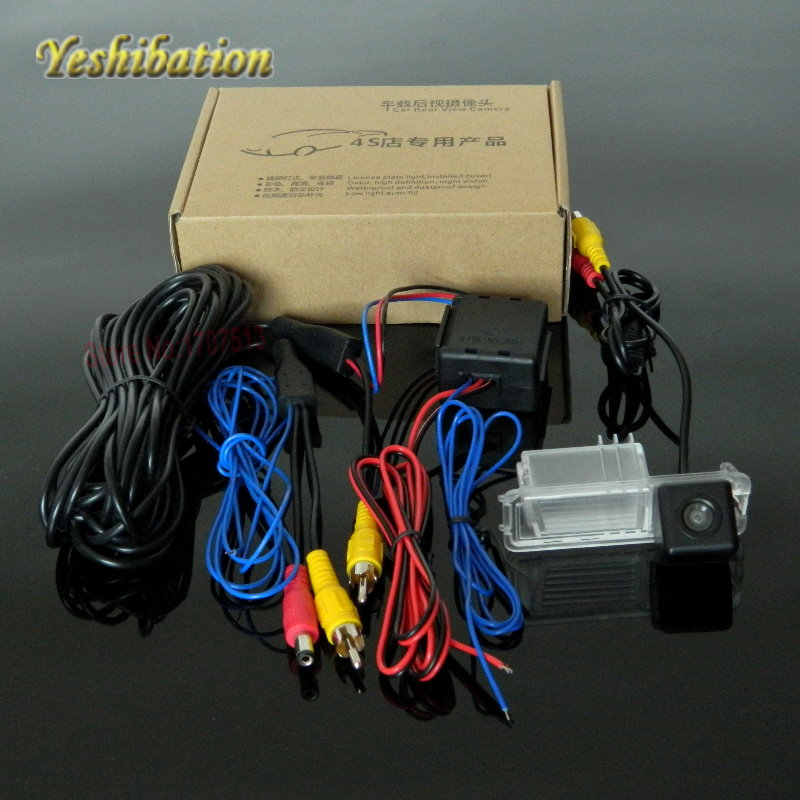 Yeshibation Car Back Up Camera Stabilized 12V Power Relay Filter For VW Volkswagen Polo V (6R) / Golf 6 VI / Passat CC POLO Bora