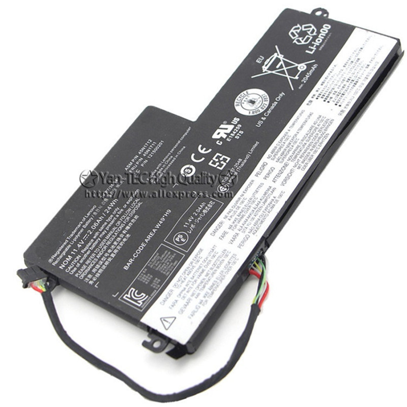 11.1V 24Wh Original Battery 45N1712 for Lenovo Thinkpad X240 X250 X260 T440S T450 Free Shipping цена