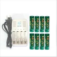 8PCs 2500MW H NI Zn 1 6VA A Rechargeable Battery Batteries 2 BATTERY BOX 4 Ports