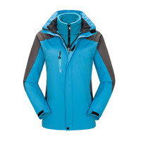 Ski Jacket Women Windproof Waterproof Thicken Warm Jackets Outdoor Sports Snow Coat Winter Female Skiing Snowboarding Clothing