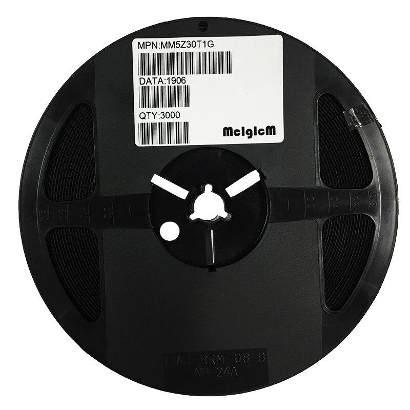 MCIGICM MM5Z30VT1G Zener Diode 30V 500mW Surface Mount SOD-523 MM5Z30V