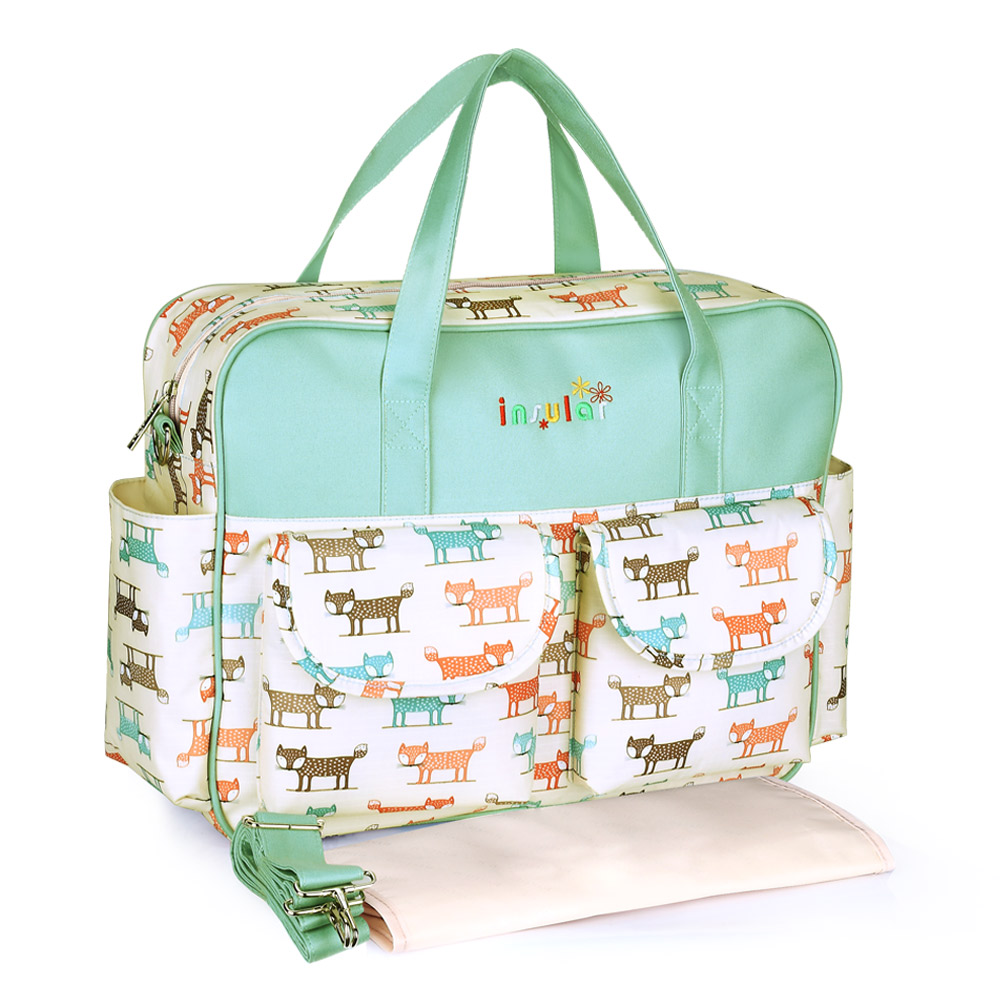 saliekams autiņbiksīšu soma mātes autiņbiksītei Izturīgs bērnu somas ratiņkrēslam Bērnu maiņas maisiņš Bolso Maternidad Tote
