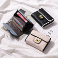 Caviar Mulheres Designer de Senhoras de Couro de Crédito ID Titular do Cartão de Couro Genuíno Caso de Cartão de Banco Dinheiro Coin Purse Pockets Curto Carteira