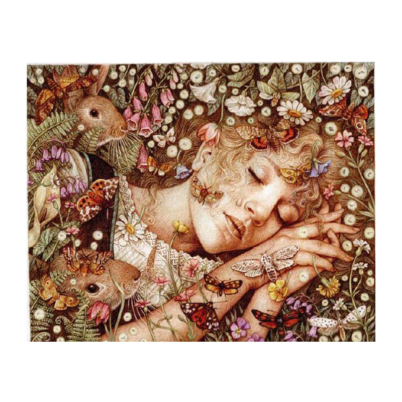 Counted & Printed Cross Stitch Embroidery Kits 14CT Cotton Thread Painting DIY Needlework DMC New Year Home Decor Beauty NewCounted & Printed Cross Stitch Embroidery Kits 14CT Cotton Thread Painting DIY Needlework DMC New Year Home Decor Beauty New