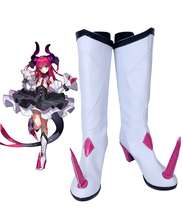 лучшая цена Fate/Extra CCC Lancer Elizabeth Bathory Cosplay Boots Shoes Custom Made