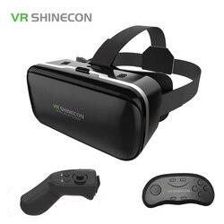 Original vr shinecon 6 0 virtual reality glasses cardboard vrbox helmet for 4 3 6 0.jpg 250x250