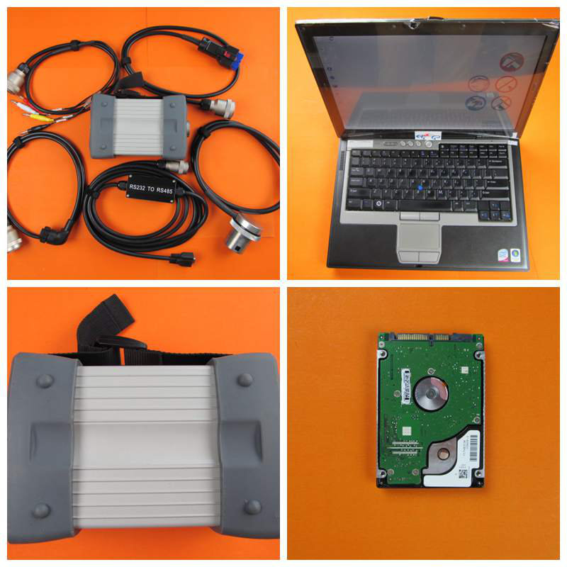 MB STAR C3 !!! Professional 8KG MB STAR C3 with Laptop D630 mb C3 Software hdd 2014.12v work for mb cars diagnostic tool