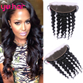 Malaysian Loose Wave Two Bundles With Lace Frontal Closure Malaysian Virgin Hair With Closure Human Hair Solid Loose Wave Hair