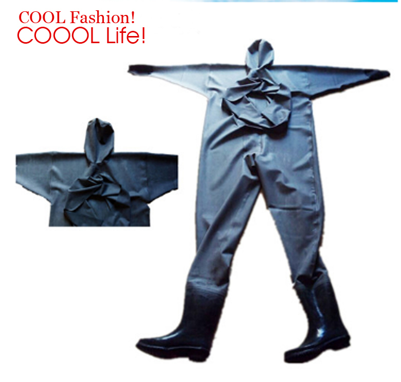 Winter Waterproof Rubber Fishing Waders Swimming Fishing Overalls Hunting Waterproof Suit magnum Boots Fishing Pant Shoes
