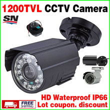 hot Style Metal Mini 1/3cmos 1200TVL HD CCTV Security Surveillance Color Small ahdl Camera Infrared Night Vision 30m Ir Out IP66