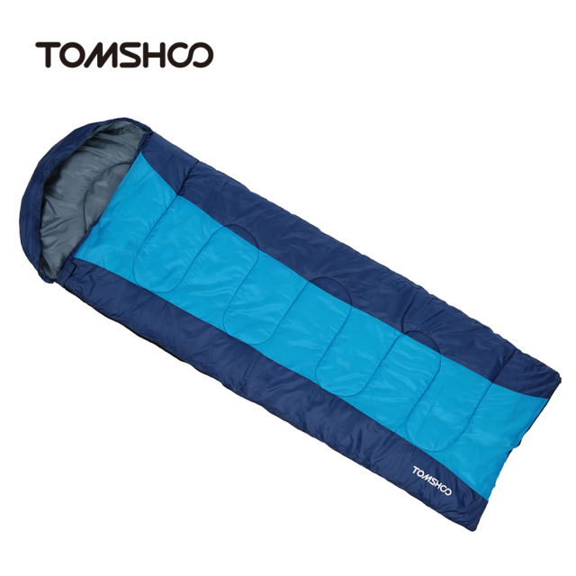Multi Function Outdoor Camping Cotton Sleeping Bag Winter Envelope Hooded Sleeping Bags Travel Thick Warm Sleep Bag 3 Colors