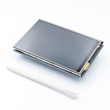 5 unids/lote módulo LCD Pi TFT 3,5 pulgadas (320*480) Módulo de pantalla táctil TFT para Raspberry Pi 3