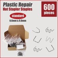 Plastic Welding Bumper Repair Car Kit Hot Stapler Staples Welder Gun Machine Soldering Iron Tips Fix