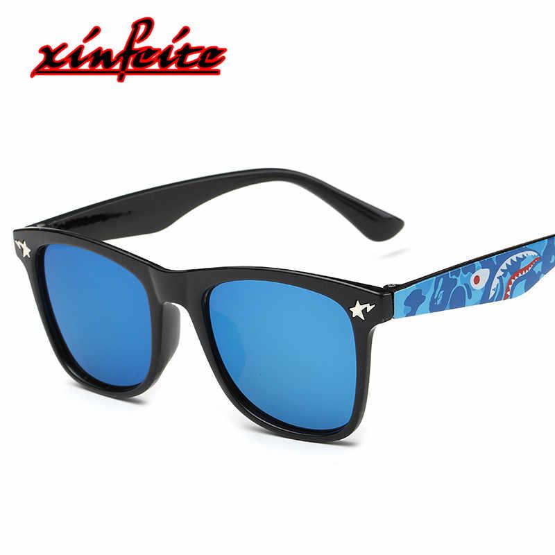 2018 маленький дешевый очков дети Sunglases мальчиков детские солнцезащитные  очки девушки дети Hipster Акула солнцезащитные очки 28e95a9bfef