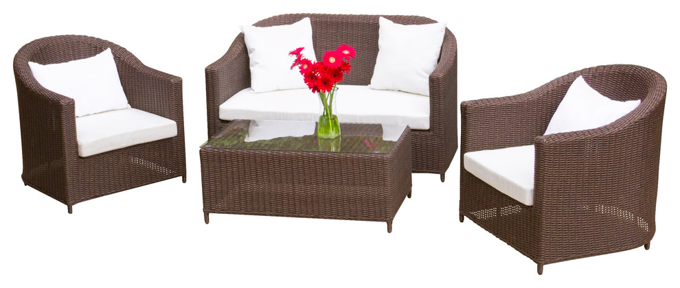 2017 home furniture brown rattan furniture 4pcs best royal for Furniture year end sale 2017
