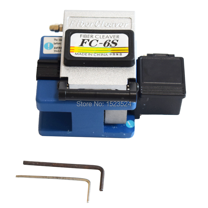 Free Shipping  FC-6S Optical Fiber Cleaver With Storage Box Used In FTTX FTTH