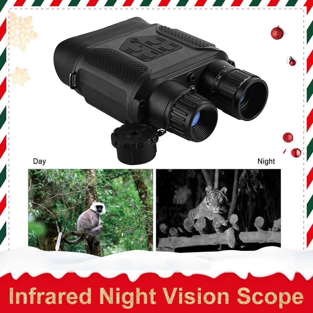 7x31 Night Vision Binocular Digital Infrared Night Vision Scope Photo Camera Video Recorder 400m 1300ft Range