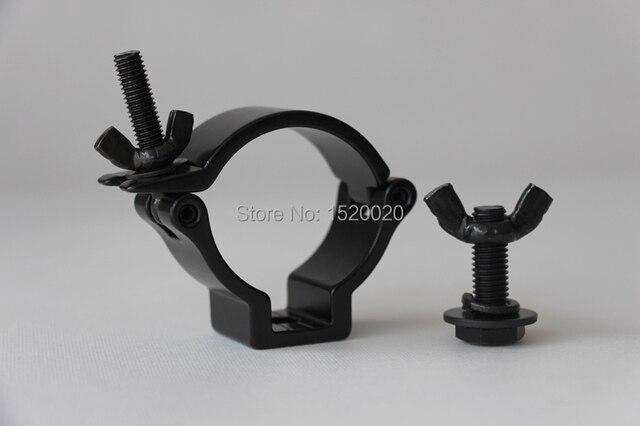 8x dj verlichting zwart haak truss klem lichten montage voor truss dia 48 51mm